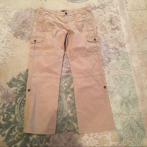 Ana Khaki Cargo Capri Pants Size 14